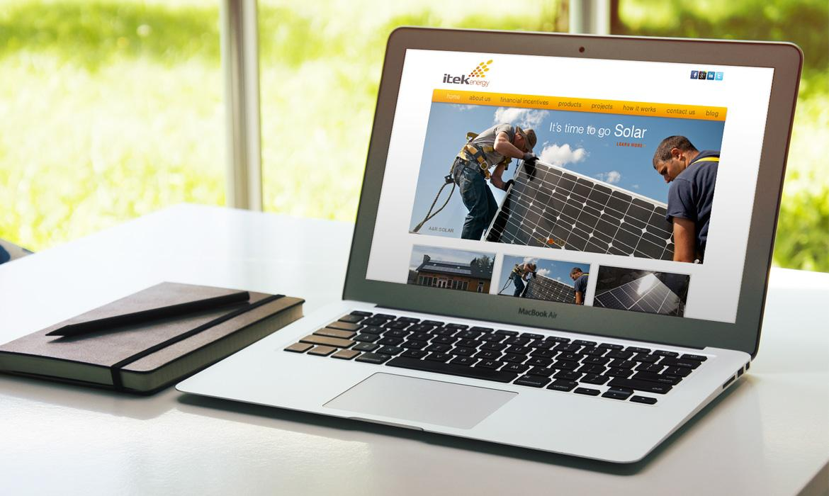 Itek Energy Website
