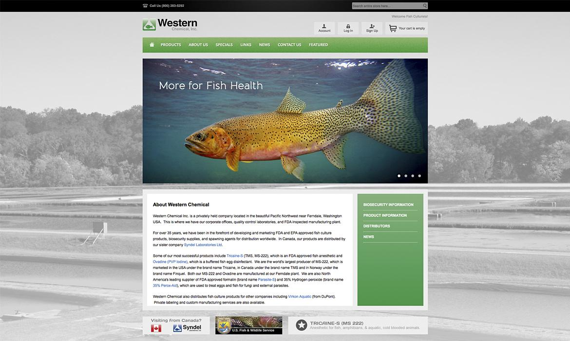Western Chemical Home Page
