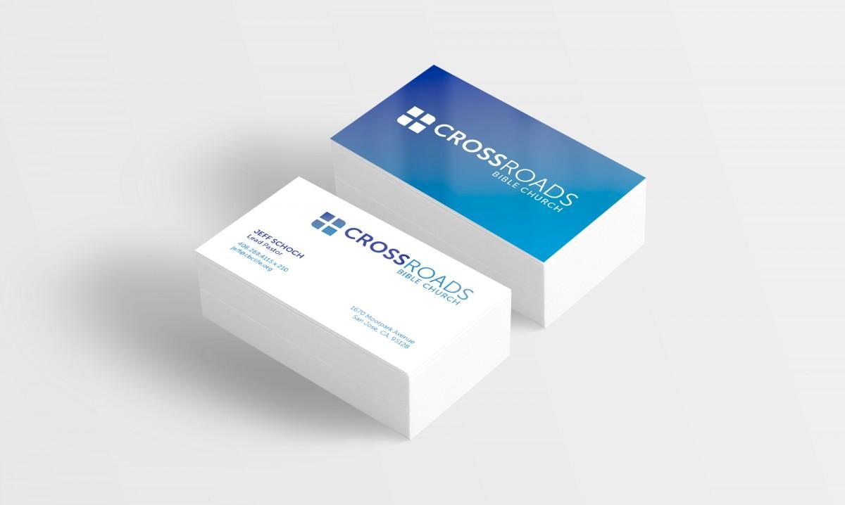 crossroads bible church business cards
