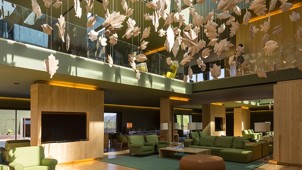 Hotel Monverde, na Quinta da Lixa, desenhado pela FCC Arquitetura