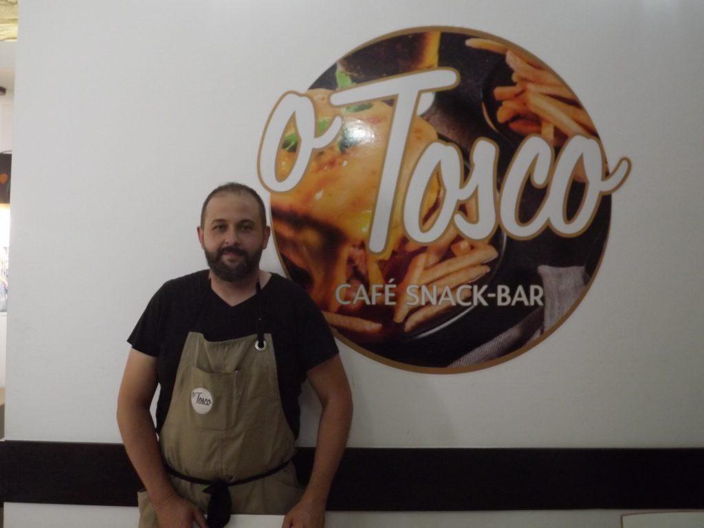 Luís Sebastião, dono do restaurante O Tosco em Braga