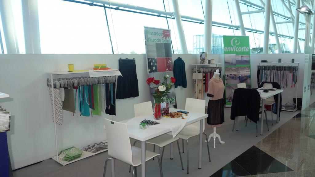 Stand 2 no Modtissimo acessório para vestuário e têxtil lar da empresa Envicorte