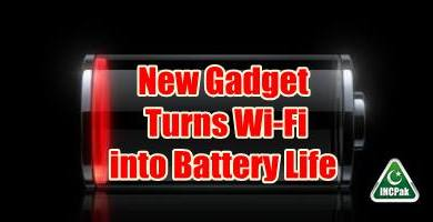 Photo of New Gadget Turns Wi-Fi into Battery Life
