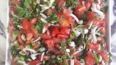 Photo of Tomato Salad with Onion (Turkish Salad Recipe)