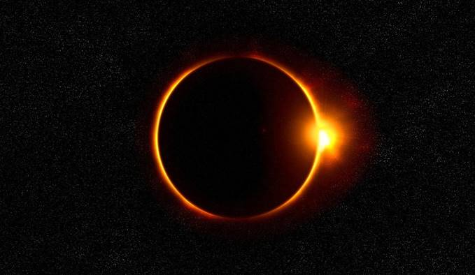 Solar Eclipse Ring of Fire