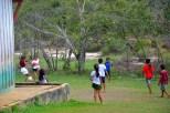 Crianças se divertem no PA Ituqui