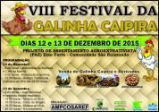 VIII FESTIVAL DA GALINHA CAIPIRA -COMUNIDADE SAO RAIMUNDO