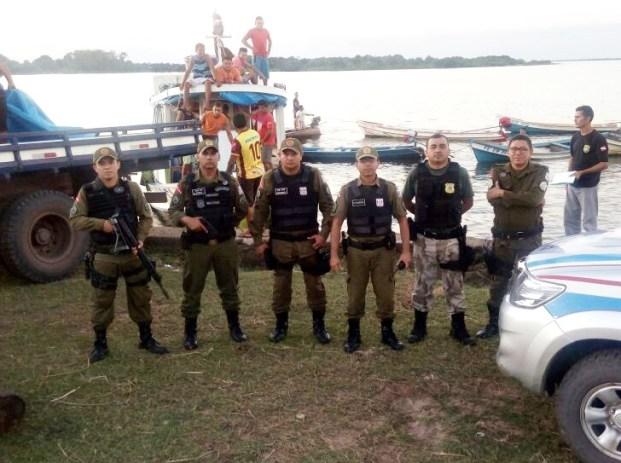 Polícia Militar resguarda órgãos na fiscalização contra ilícitos ambientais