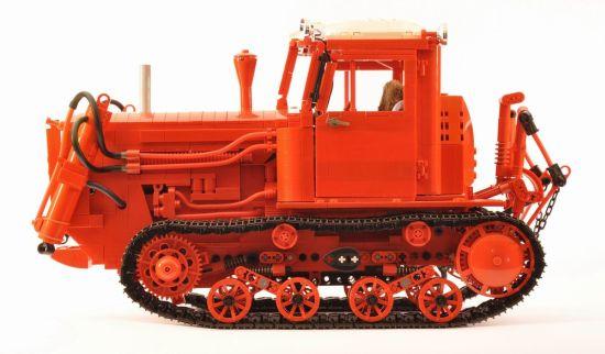 lego belarus dt 75 crawler tractor