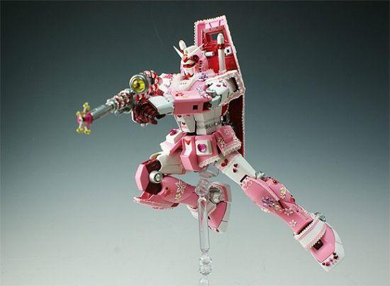 pink gundam 1