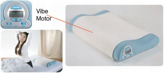 vibrating alarm pillow sNaOx 6648