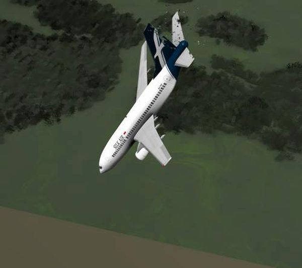 Boeing 737-36N crash