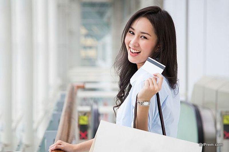 Japanese shopper