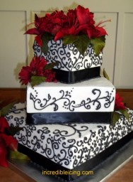 Ryan and Stephanies Wedding Cake