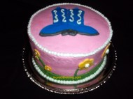 #413- simple celebration cake