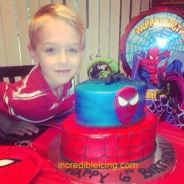 #283- Michael and his Spiderman Cake