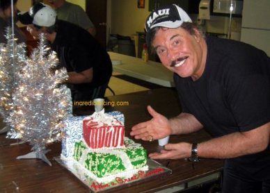 #379-Tony Orlando and his Opening Night Cake