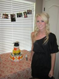 #111- Morgan's Graduation Cake