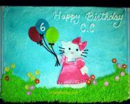 Hello Kitty Flies a Kite