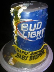 #165- Bud Light Can