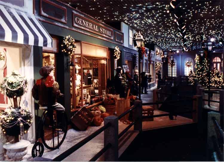 Enchanted Village Main Street Scene