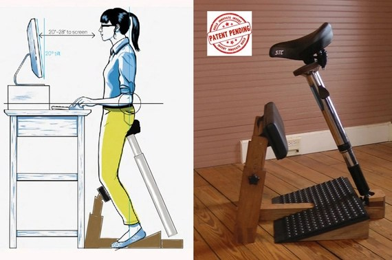 chairs for standing desks two person swing chair finally a your desk incredible things