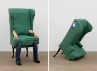 Wearable Furniture: The Human Chair | Incredible Things