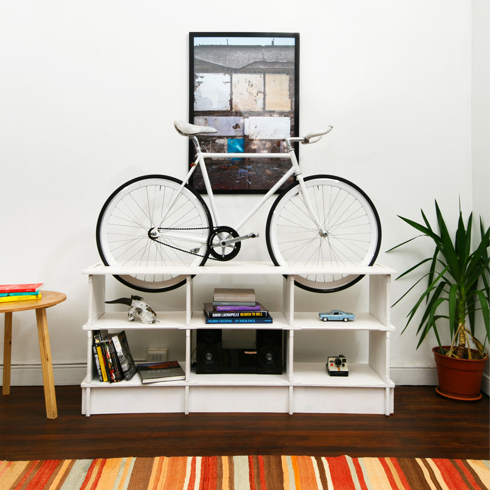 Check Out These Super Innovative Furniture Bike Racks
