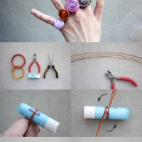 Jewelry Craft: Ring made by wire
