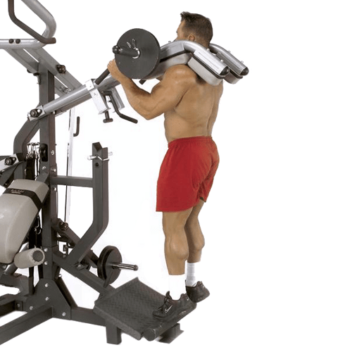 Body Solid Powerlift Freeweight Leverage Gym Sbl460p4