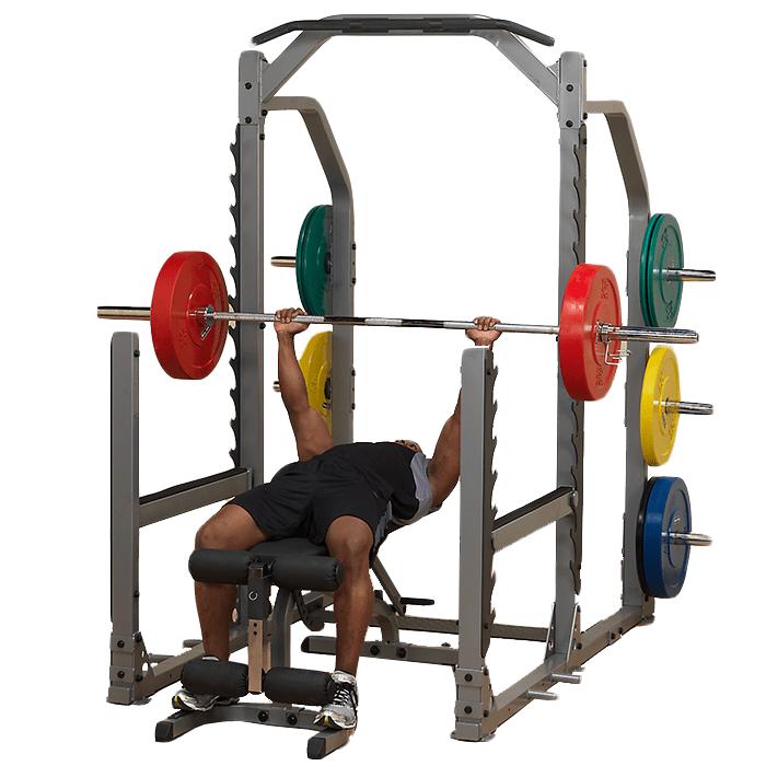 Body Solid Pro Clubline Multi Squat Rack Smr1000