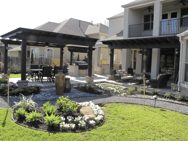 Outdoor Kitchen Designs In Houston Increte Of Houston