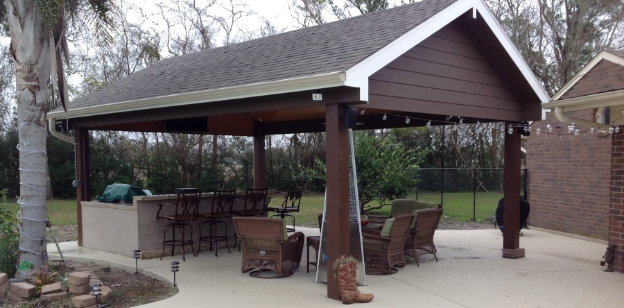 Covered Patio Ideas For The Backyard Increte Of Houston