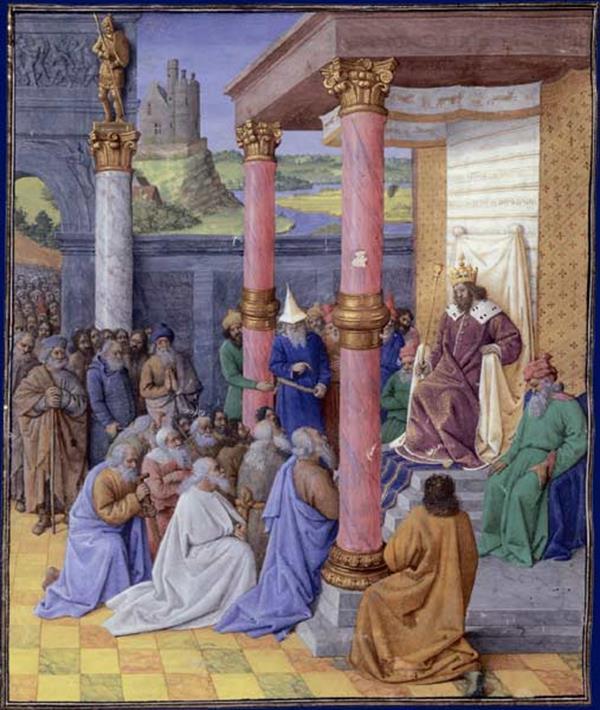 Ciro libertando os Hebreus do Cativeiro da Babilônia