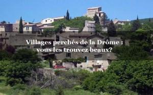 Villages perchés de la drome
