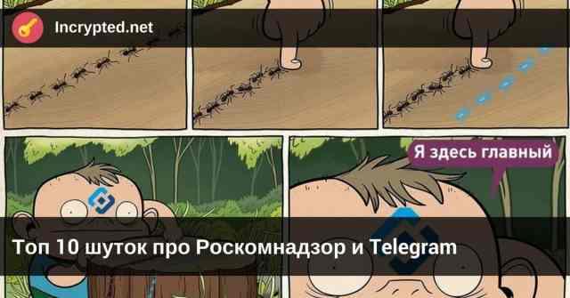 Топ 10 шуток про Роскомназдор и Telegram
