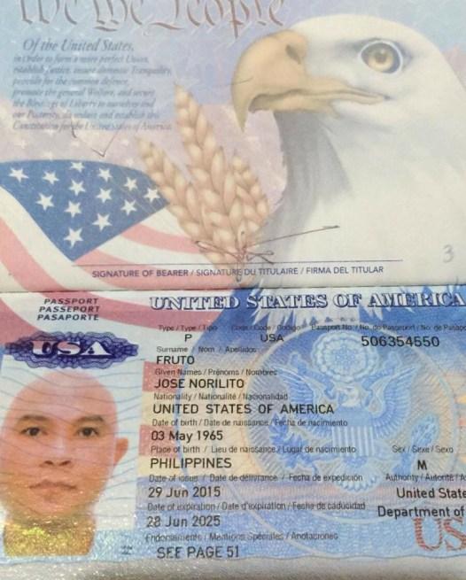 Lito Fruto - American Citizen
