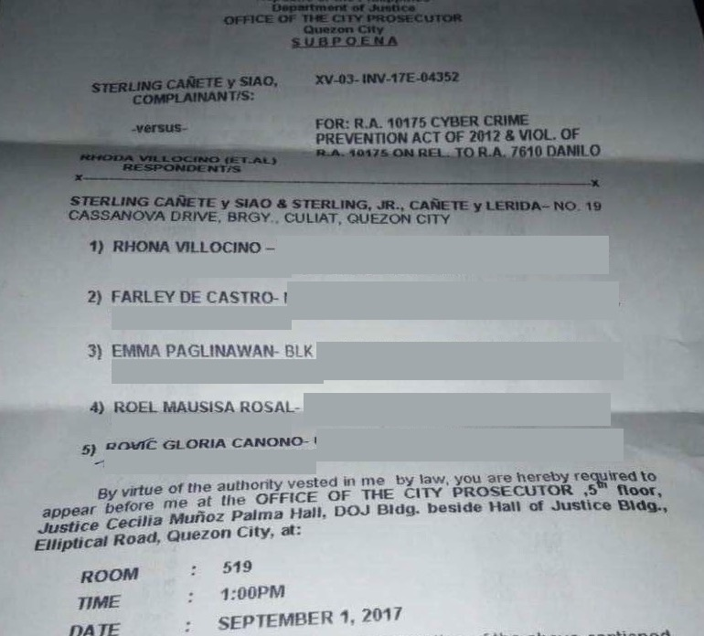 Libel Case by Sterling Cañete-2