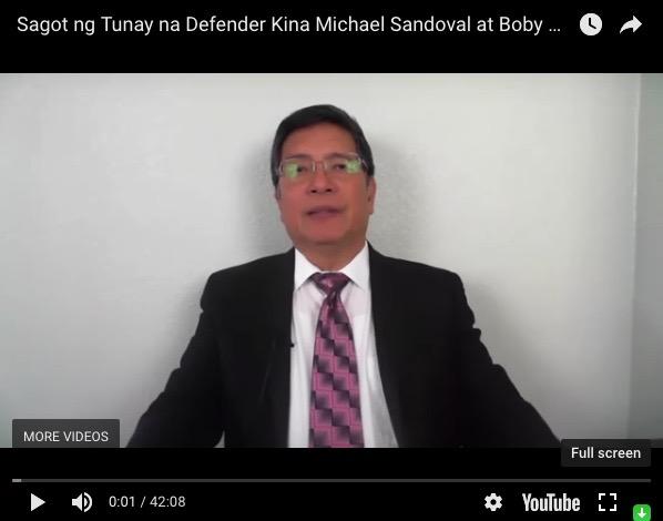 Isaias T. Jun Samson Jr. Youtube Video