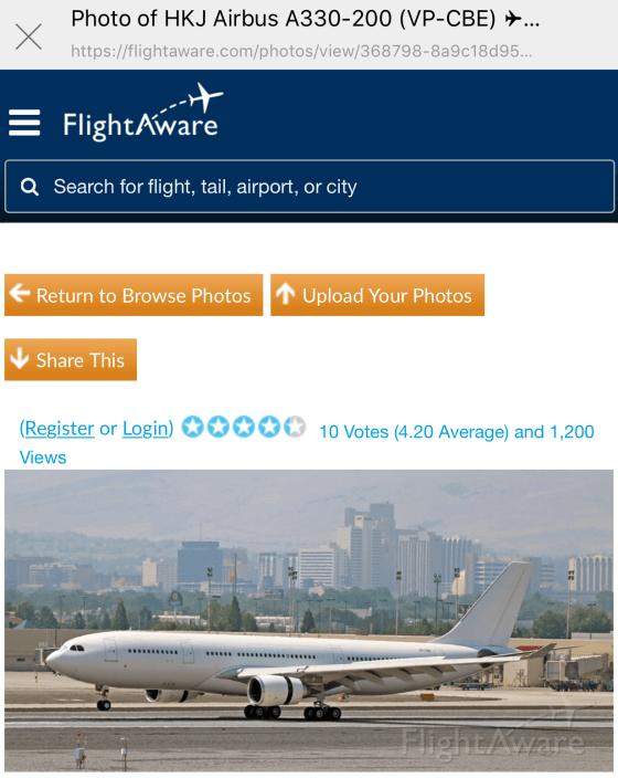 [2018.08.13] Flight Aware - Airbus