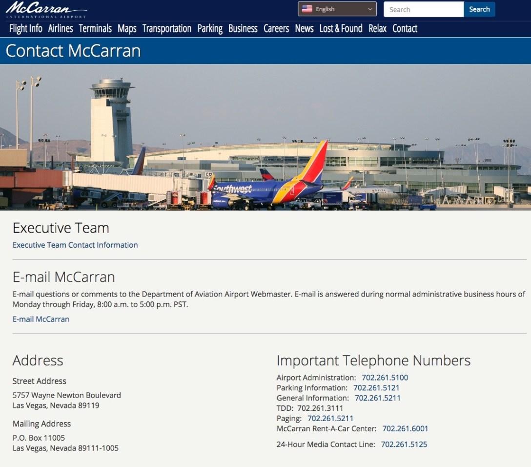 [2018.08.13] McCarran International Airport
