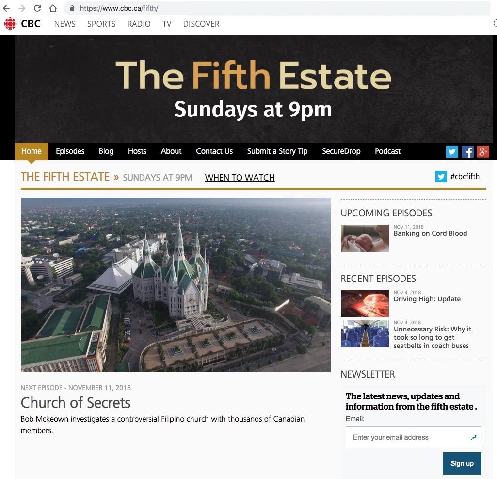 [2018.11.07] Fifth Estate - Church of Secrets