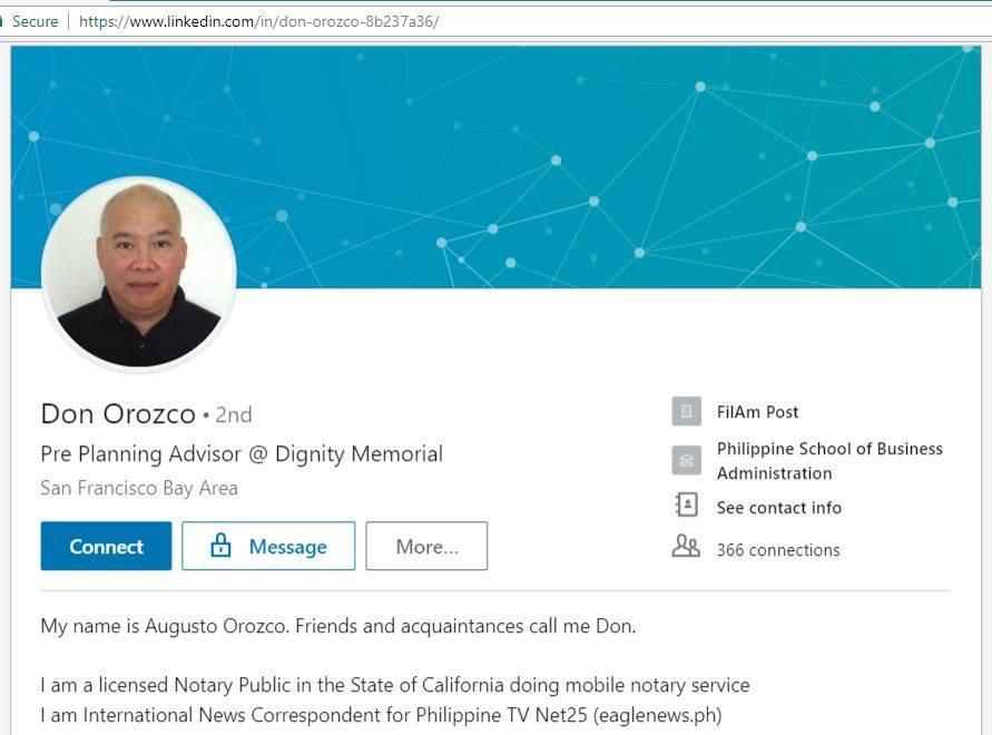 Don Orozco Profile
