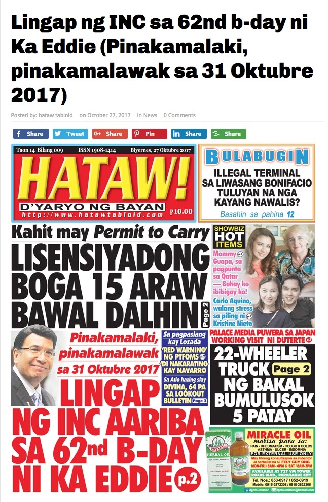 INC PR in Tabloids-1