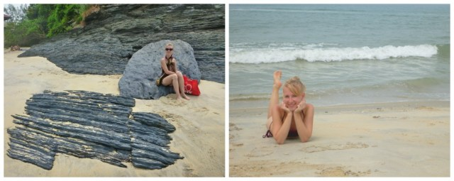 tengerpart langkawi malajzia fekete homok