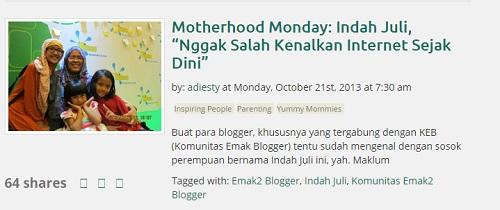 Inspiring People in Mommiesdaily