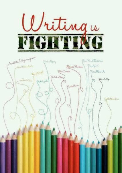 Writing Fighting