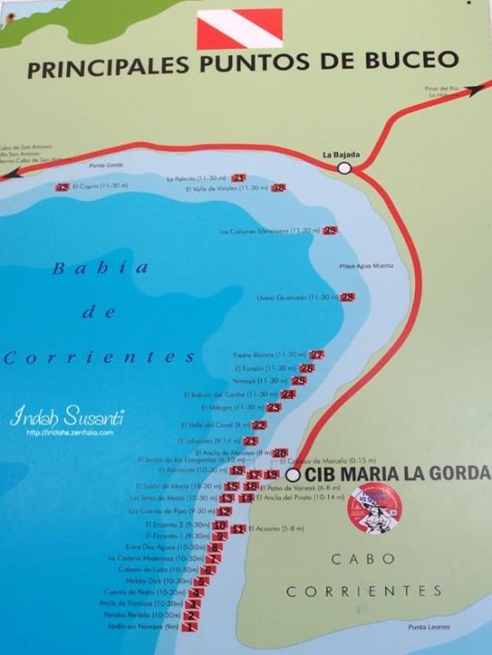 Maria La Gorda Dive Sites
