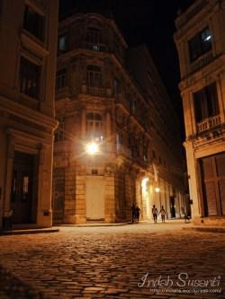 Havana Vieja at night