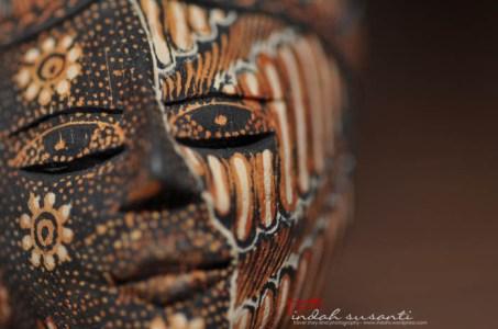 Javanese Batik Mask